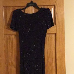 Blue Sparkly Dress for Special Occasions